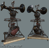Dishonored 2 alarms.