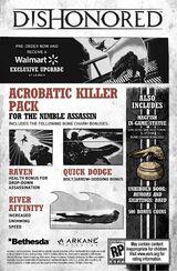 Dishonored: Acrobatic Killer Pack