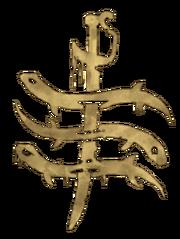 Dead eels gang symbol