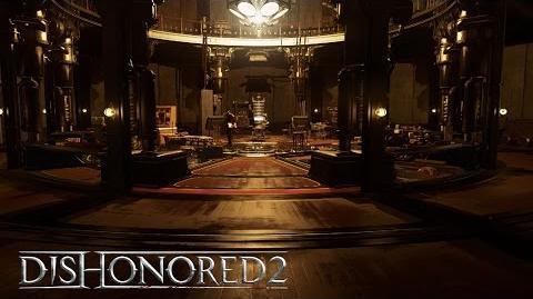 Dishonored 2 tráiler de la mansión mecánica (Caos reducido)