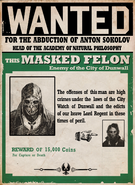 Masked felon