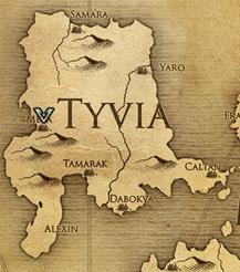 Мейя, карта