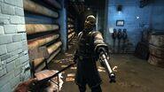 Overseer with pistol