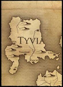 Tyvia map