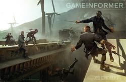 Corvo gameinformer cover