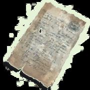 Written Note