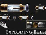 Balas explosivas
