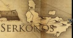 Куллеро, карта