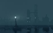 Kaldwin's bridge, nighttime