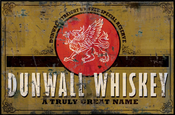 Dunwall whiskey ad