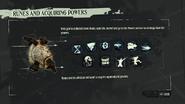 Runes and acquiring powers