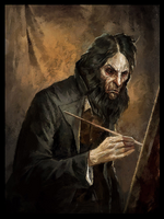 Light Along the Inverse Curve, Sokolov's Self Portrait