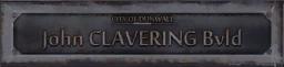 John CLAVERING Blvd