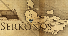 Саггунто, карта