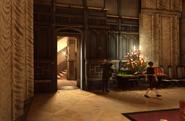 Boyle mansion servant access