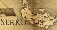 Бастиллиан, карта