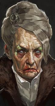 D1-art-Portrait de Mamie Chiffons