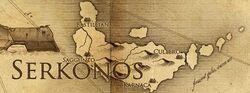 Serkonos map