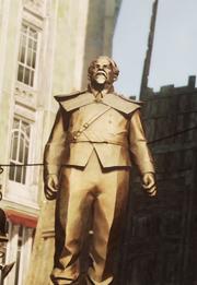 Theodanis statue
