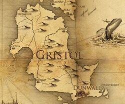 Gristol mappa