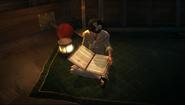 Эмили с книгой