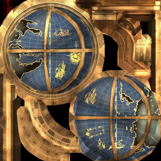 Текстура глобуса