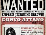 Заметка о награде за Корво