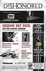Dishonored: Shadow Rat Pack
