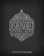 Dishonored artbook cover