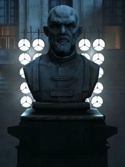 Statua di Benjamin Holger