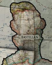 Bastillian on map