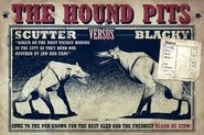 Poster hound pits