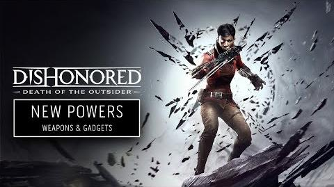 Dishonored Death of the Outsider Арсенал Билли Лерк