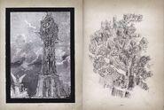 Art book clock tower