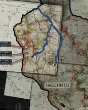 Саггунто, река