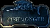Fishmonger sign