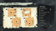 Карта особняка Тимша