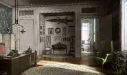 Southern Victorian Interior concept art