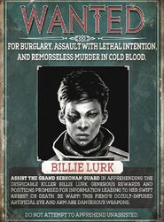 DotO Billie Wanted Poster