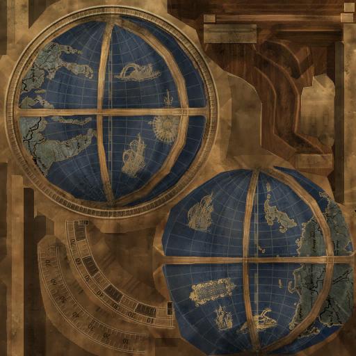 Текстура глобуса 2