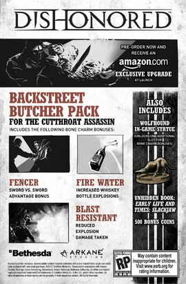 Backstreet Butcher Pack