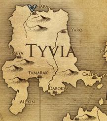 Саммара, карта