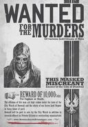 Dishonored Wanted Poster