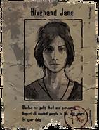 Bluehand Jane Wanted