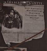 Karnaca Gazette Mechanical Marvels