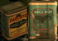 Tin of Potted Whale Meat