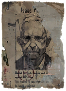 Issac Wanted Poster