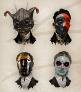 Aristocrats mask concept art