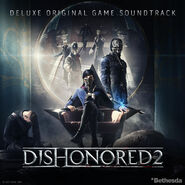 Dishonored 2 Deluxe OST Cover