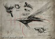 Bloodfly Study Art
